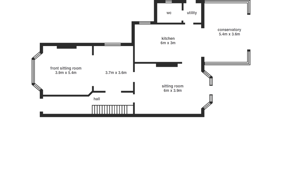 Stradella Road - floorplan