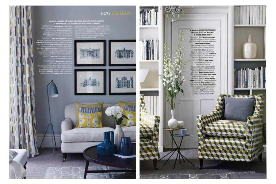 Stradella Road - tearsheet for Homes & Gardens