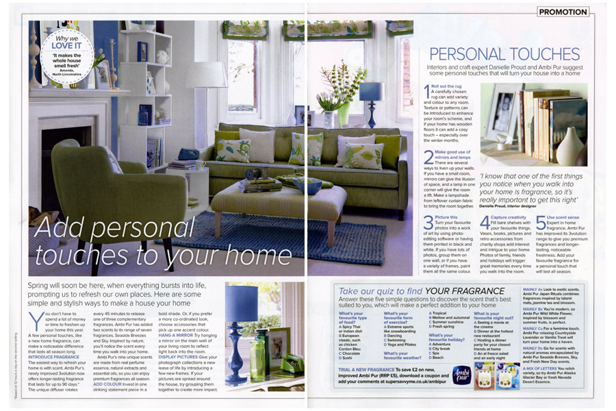 Stradella Road - tearsheet for Ideal Home