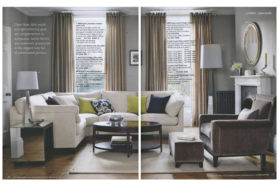 Vallance House - tearsheet for John Lewis