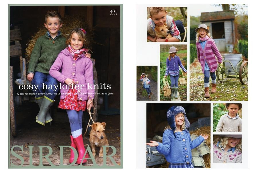 Walnuts Farm - tearsheet for Sirdar